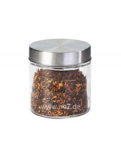 Tabaktopf Glas/Aluminium für ca. 200g Tabak
