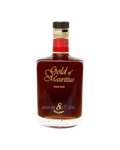 Gold of Mauritius Dark Rum Solera 8 0,7l